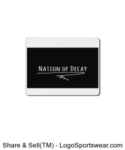 Nation of Decay Logo Mousepad Design Zoom